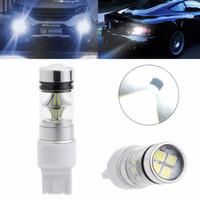 1Pc P13W / 7443 / H16 / H15 / 3157 Prise 100W 2323 SMD LED Phare-brouillard de voiture Conduisant DRL Ampoule De Frein Arrière Stop Lampe