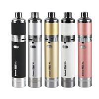 De calidad superior Yocan Evolve Plus XL kit de batería 1400mAh Mejor cera vaporizador pluma de cuarzo doble bobina E Kit de cigarrillo