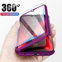 360 la cassa del telefono di protezione completa per Xiaomi redmi Nota 7 6 5 K20 Pro 5A 7A S2 Go di caso per Xiaomi Mi 9T 9 8 SE A2 Lite Max 2 3 Caso
