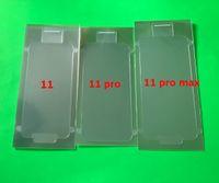 100 stücke Neue Telefon Fabrik Kunststoff Wrap Seal Screen Protector Film Front Für iPhone 6G 6s 7 8 7G 8G x X XR 11 12 Pro max
