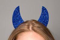 Хэллоуин поставляет вечеринки аксессуары для вечеринок для волос волосы дьявол рога оголовье дети взрослых костюм костюм шарика головы