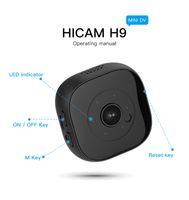 H9 Mikro WiFi Mini Kamera HD 1080 P IR Gece Görüş P2P IP Kamera Kablosuz Ağ Ev Güvenlik Video Video Kamera