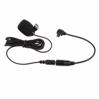 30Hz- - 15KHz Black 3. 5mm Mini Clip- on Microphone With 17cm Ad...