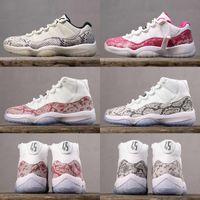 2019 Nouveau 11 Blanc Baskets Baskets rétro de basket-ball chaussures 11s XI baskets de sport baskets haute qualité taille 7-13