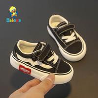 Bebé suave de fondo Boy 1-3 años 2019 otoño invierno de los niños zapatos de lona Casual niñas recorrer del niño botas