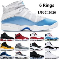 New UNC 6 6s rings Jumpman mens basketball shoes defining mo...