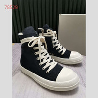 2019 Designer Top quality Reflective Canvas high shoes Coupl...
