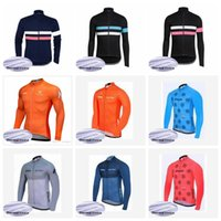 RAPHA STRAVA Team nach Maß Radfahren Winter Thermal Fleece Trikot Winter Herren Komfortable Outdoor Sports Jersey Langarm Tops Q620
