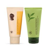 INNISFREE Jeju Volcanic Pore Espuma limpiadora Olive Real Cleasing Foam Green Tea Cleaner Crema facial espuma