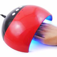مجفف الأظافر LED مصباح للصالون مسمار مسمار تصاميم أدوات الفن الجاف بسرعة 24W مجفف مصباح USB المسؤول 8LEDs