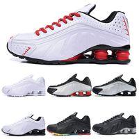 Nike Shox R4 NZ scarpe da corsa blak Oro bianco rosso metallizzato ingrosso COMET Olimpiadi RACER BLU atletici sport sneakers Size 40-45
