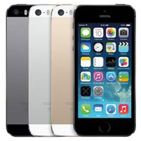 الأصلي تجديد ابل اي فون 5S مع بصمات الأصابع 4.0 بوصة 1GB RAM 16GB / 32GB / 64GB ثنائي النواة IOS A7 8.0MP مفتوح 4G LTE الهاتف DHL 10PCS
