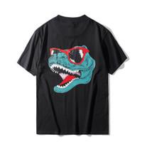 20ss Mens stylist T Shirt manica corta estate casuale qualità degli uomini Donne Tees coccodrillo di alta Stampa Taglia S-2XL