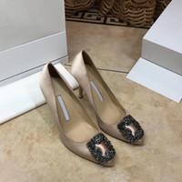 2019high качество Дизайнер партии Свадебная обувь невесты женщины дамы сандалии моды платье Сексуальная обувь острым носом на высоких каблуках кожа Блеск
