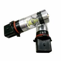 2pcs High Power Branco P13W 100W 3030 20SMD Lâmpadas LED para carro Mazda CX-5 luzes diurnas permanentes