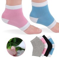 Gel Heel Socks Moisturing Spa Gel Socks 4 Colors cotton Feet...