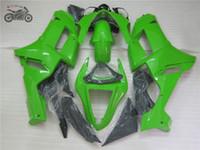 Libre 7gifts kits chinos Carenado para Kawasaki Ninja ZX6R 2007 2008 07 08 ZX6R ZX partes del cuerpo conjunto moto 636 carenados verdes