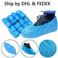 DHL Free Stock Plastic Waterproof Disposable Shoe Covers Rai...