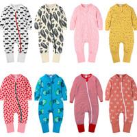 Neue Kinder Frühling Strampler Klettern Kleidung Kleinkind Infant Jumpsuit Baby Jungen Mädchen Cartoon Strampler Jumper Neugeborenen Overalls 2020 E21901