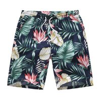 Flower Leaves Spartan Board Shorts Beach Summer Men Sunbathing Traspirante Quick Dry Vintage Surfing Trunks Costumi da bagno Pantaloni corti