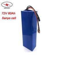 Paquet de batterie au lithium 72V 60Ah 50Ah 40Ah Li de batterie 72V de batterie de vélo électrique du cycle 7000W profond avec le chargeur 5A rapide