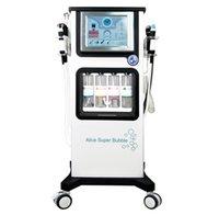 H2O2 hydrafacial hydra dermabrasion facial spa maquina hydrofacial microdermabrasion machine 7 in 1