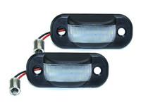 matrícula del coche LED lámparas para Audi 80 B4 / 100 C4 / A6 C4 número de matrícula del precio de fábrica llevó la luz 12V 6000K