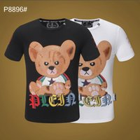 bfcdfbbdef5a 2019 New Fashion Brand T-shirt Star Designer Spring Summer Color Sleeves  Vacation Short Sleeve Tees Casual Letters Printing Tops  8587
