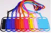 Cellphone Silicone Lanyard Strap Universal Smartphone Case C...
