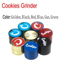 4 Layers 40*35mm Cookies SF California Zinc alloy Herb Grind...