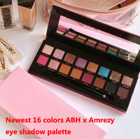 Новый Product16 Цвета Теней для глаз Палитра Абхамезы Eye Shadow Shimmer Matee Teeshadow Красота Макияж 16 Цветов Теней для век Палитра Высокое Качество