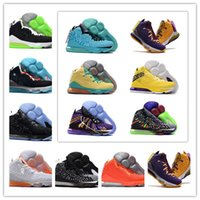 Hot James Quello che il 17 Future Mens Basketball Shoes 17s South Beach Lakers Media Day Big Bang Designer dinastia viola Sport Sneakers US 7-12