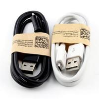 Универсальный 3-футовый белый черный Micro V8 5PIN USB зарядки кабели для Samsung Galaxy S6 S7 Edge S3 S4 Примечание 2 4 HTC Android PHO