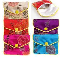 Jóias de armazenamento Sacos de seda tradição chinesa malote Presentes Jewels Organizador GB407