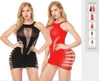 ملابس داخلية نسائية مع الفساتين واثنين من الألوان صافي الملابس قطعة واحدة مع اهتمام مثير في التجارة الخارجية في أوروبا وأمريكا