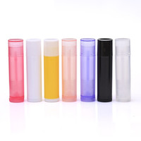 5g ملمع الشفاه حاويات PP BPA الحرة ملمع الشفاه فارغة أنابيب ملمع شفاه أنابيب متعددة الألوان للاختيار