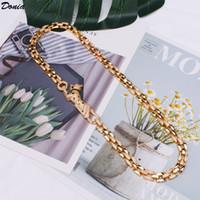 Donia Joyería Collar de lujo Moda europea y estadounidense 8 mm de ancho Leopard Copper Micro-incrustado Circón Exagerada regalo de diseñador