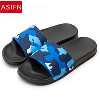 ASIFN Männer Hausschuhe Flip Flops Camo Lässige Slides Männer Schuhe rutschfeste Strand Schuhe Sommer Sandalen 4 Farben Zapatos Hombre