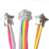 12 ragazze di stili Colorful cloud farfalla Stella parrucca forcine per bambini clip di capelli carino fasce Barrettes bambini Accessori per capelli M468