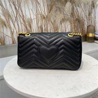 حقائب اليد حقيبة المرأة المحافظ جودة عالية غطاء حقيبة يد جلد طبيعي المرأة حقائب الكتف الأوروبية والأمريكية نمط تأتي مع مربع