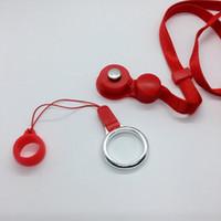 Collana Sling nuovo cordino anello di barretta portatile innovativa forma ad anello del silicone di disegno O addensare fisso per Vape EVOD EGO Pen