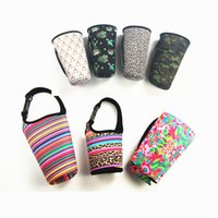Lily Neoprene Bottles Wrap Cooler Case Cover può essere isolato Sleeve Pouch Bag Case Pouch per 30 oz Tumbler Cup HH7-2060