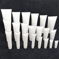 15ml 20ml 30ml 50ml 100ml White Plastic Cosmetic Tube Refill...