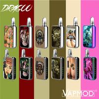 VAPMOD DragoO MOD 650MAH 3D экспресс-переменное напряжение Предварительная тепловая батарея для 510 резьбовый толстый масляный картридж на 100% оригинал