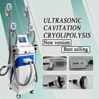 2020 NOVO 4 alças Cryolipolysis gordura congelamento Máquina de Cryolipolysis Slimming Arrefecer Body Sculpting máquina para redução de gordura