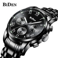 BIDEN Brand Chronograph Date Mens Watches Sport Male Clock S...