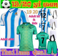 Adult shirt and kids 19 20 Real Sociedad Soccer Jersey 10 X....