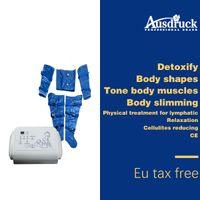 UE, libre de impuestos, presoterapia, drenaje linfático, grasa, eliminar Máquina delgada, presión de aire, desintoxicación, cuerpo, adelgazamiento, envoltura, desintoxicación, pérdida de peso, dispositivo de belleza