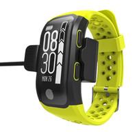 S908 Höhenmesser oder GPS-Armband Herzfrequenzmesser Fitness Tracker Smart-Uhr-wasserdichte Sportstrecke Armbanduhr für iPhone und Android