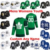 2020 All-Star Toronto Maple Leafs Jersey Matt Lorito Max Veronneau Denis Malgin Jack Campbell Kyle Clifford Hockey azul Jerseys Mens personalizado